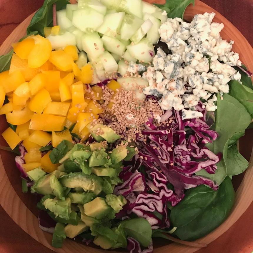 seared tuna salad1