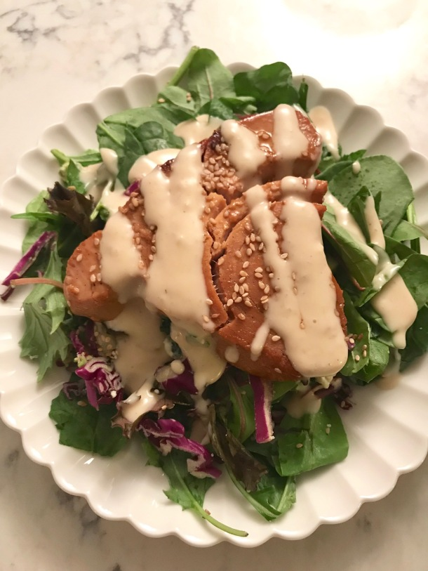 seared tuna salad5