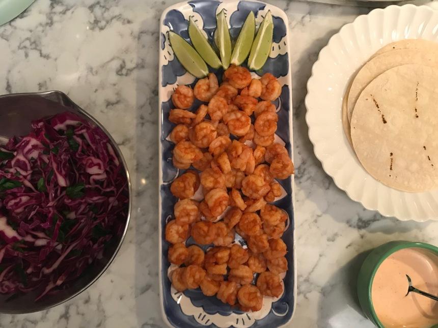 Shrimp tacos with slaw and sriracha ranch4