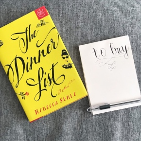 Book Review: The Dinner List