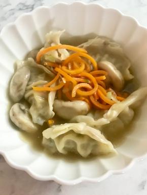 Easy Dumpling Soup