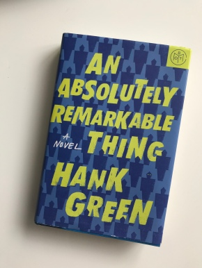 Book Review: An Absolutely Remarkable Thing