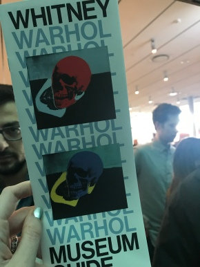 PSA: Warhol at the Whitney