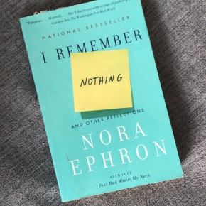 Book Review: I Remember Nothing