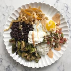 Vegetarian Mexican Bowl