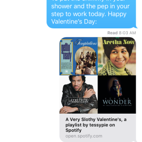 Gifting Decoded: Valentine's Day Playlist