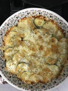 Zucchini and PotatoGratin