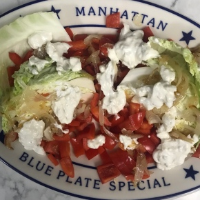 Healthier Wedge Salad