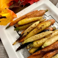 Savory Roasted Carrots