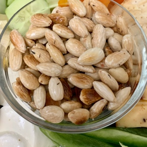 Fried Spiced Almonds
