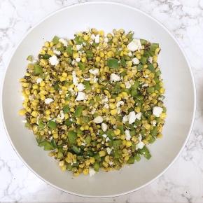Sriracha-Lime Corn Salad