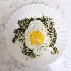Spinach Quinoa with SmokedMozzarella