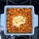 TikTok Feta Pasta (but with goat cheese and farro)
